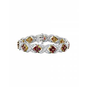 Diana M. Fine Jewelry 14K 12.00 ct. tw. Diamond & Ruby Bracelet