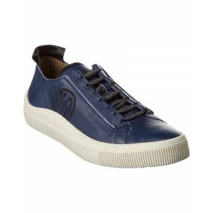 FLY London Sate Leather Sneaker - Blue - Size: 40