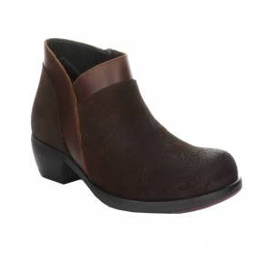 FLY London Meba Suede Bootie - Size: 35