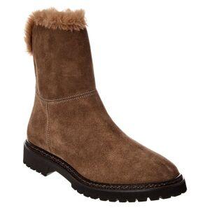 Aquatalia Marilena Weatherproof Suede Boot - Size: 10.5