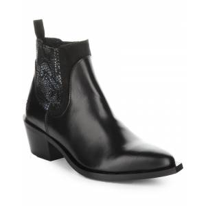 FLY London Iate Leather Bootie - Size: 38