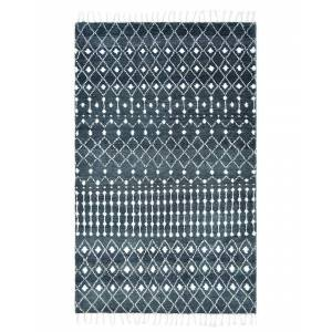 """Solo Rugs Ace Hand-Knotted Wool-Blend Bohemian Rug - Size: 9"""" x 12"""""""