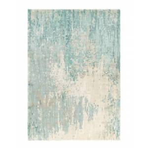 Surya Watercolor Hand-Knotted Rug - Size: 8' x 11'