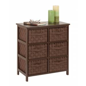 honey can do Honey-Can-Do 6-Drawer Storage Chest