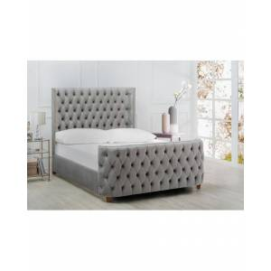 Taylor Jennifer Taylor Brooklyn Tufted Headboard Bed - Size: King