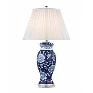 Artistic Home & Lighting Hand Painted Ceramic LED Table Lamp