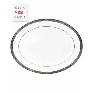 Lenox Vintage Jewel Oval Platter 13in Oval Platter