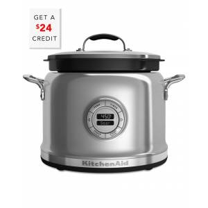 KitchenAid 4qt Multi Cooker - KMC4241SS with $24 Credit