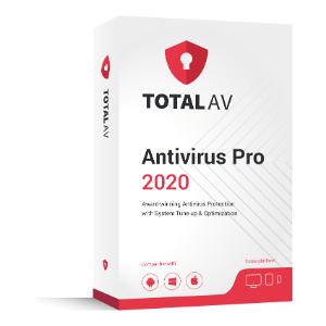 Total AV Save $80 - Mac Virus Protection (Total AV 2020)