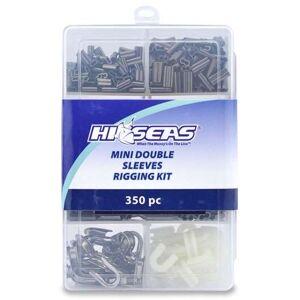 American Fishing Wire Hi-Seas Mini Double Sleeves Rigging Kit, 350 Pieces - TKB00002