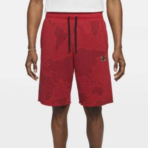 Nike Mens Nike Alumni C2W Shorts - Mens Red/Red Size M