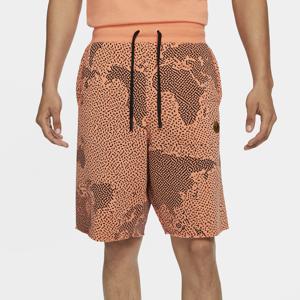 Nike Mens Nike Alumni C2W Shorts - Mens Orange/Black Size M