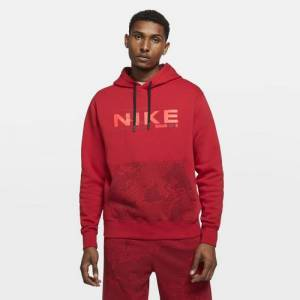 Nike Mens Nike Club C2W Hoodie - Mens Red/Red Size M