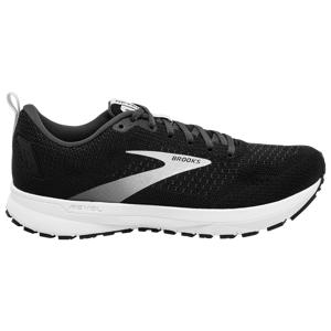 Brooks Mens Brooks Revel 4 - Mens Running Shoes Black/Oyser/Silver Size 11.5