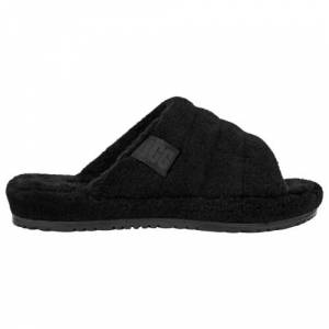 UGG Mens UGG Fluff You - Mens Shoes Black/Black Size 18.0