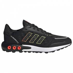 adidas Originals Mens adidas Originals LA Trainer III - Mens Training Shoes Black/Yellow/Solar Red Size 11.5