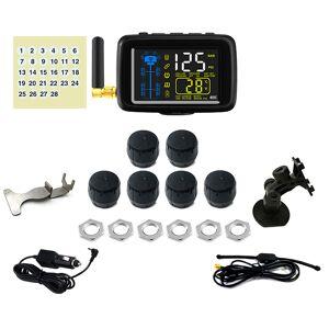 RV Products 4 You TTILifes U901TP Cap Sensor Tire Pressure Monitoring System with Six Sensors