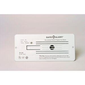 MTI Industries Classic LP Gas Alarm Flush Mount, White