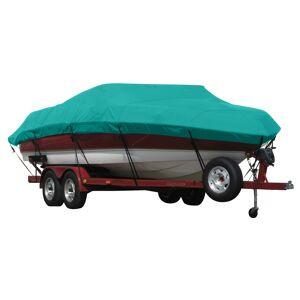 Covermate Exact Fit Covermate Sunbrella Boat Cover for Glastron Futura 170 Futura 170 O/B. Persian Green