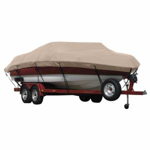Covermate Exact Fit Covermate Sunbrella Boat Cover for Seaswirl Tahoe 16 Tahoe 16 O/B. Linnen