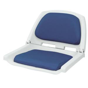 Wise Molded Fold-Down Fishing Seat with Padding
