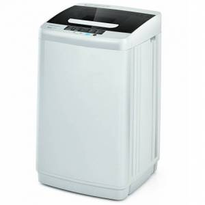 Costway 8.8 lbs Portable Full-Automatic Laundry Washing Machine with Drain Pump