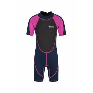 Mountain Warehouse Junior Shorty Wetsuit - Pink  - Size: 3T-4T