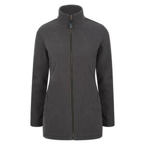 Mountain Warehouse Birch Womens Longline Fleece Jacket Jacket - Green  - Size: 20