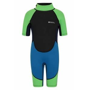 Mountain Warehouse Junior Shorty Wetsuit - Blue  - Size: 5-6