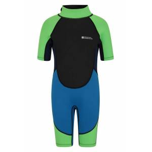 Mountain Warehouse Junior Shorty Wetsuit - Blue  - Size: 3T-4T