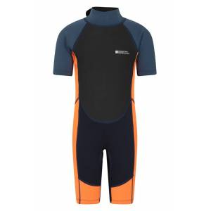 Mountain Warehouse Junior Shorty Wetsuit - Orange  - Size: 5-6