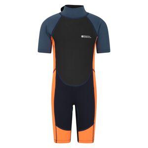 Mountain Warehouse Junior Shorty Wetsuit - Orange  - Size: 3T-4T