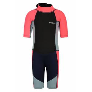 Mountain Warehouse Junior Shorty Wetsuit - Pink  - Size: 6X-8
