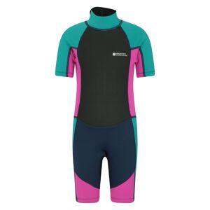Mountain Warehouse Junior Shorty Wetsuit - Purple  - Size: 3T-4T