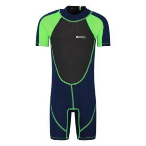 Mountain Warehouse Junior Shorty Wetsuit - Green  - Size: 5-6