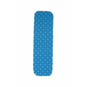 Mountain Warehouse Compact Inflating Mat - Blue  - Size: ONE