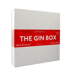 World Gin Tour The Gin Box 10 X 50ml - Red Edition