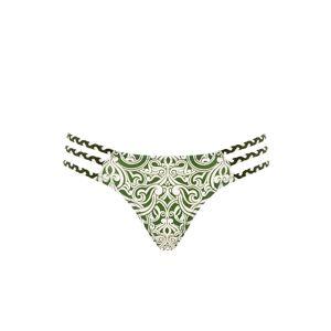 Paolita Vela Amina Bikini Bottom  - Green - Size: Extra Small