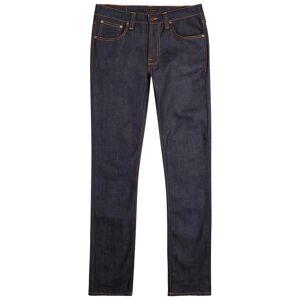 Nudie Jeans Lean Dean Indigo Slim-leg Jeans  - Indigo - Size: W32/L32