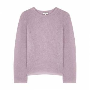 Vince Lilac Open-knit Jumper  - Lilac - Size: Extra Small