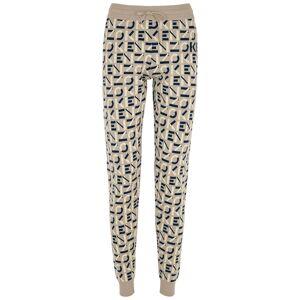 Kenzo Taupe Logo-intarsia Knitted Sweatpants  - Grey - Size: Medium