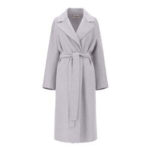 'S Max Mara Wool Coat  - Medium Grey - Size: UK2