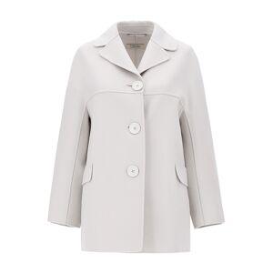 'S Max Mara Wool Jacket  - Ice - Size: UK 4