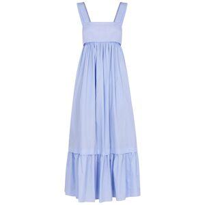 Chloé Light Blue Cotton-poplin Midi Dress  - Light Blue - Size: 10
