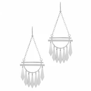 Isabel Marant Étoile Boucle D'Oreill Silver-tone Drop Earrings  - Silver - Size: One Size