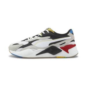 Puma RS-X WH Men's Sneakers in White/Black, Size 9