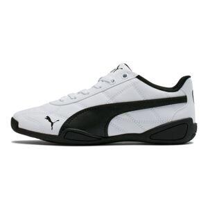Puma Tune Cat 3 Shoes JR in White/Black, Size 5.5
