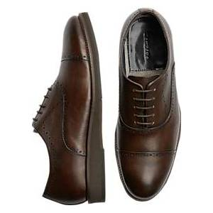 Zanzara McCartney Brown Cap-Toe Oxfords