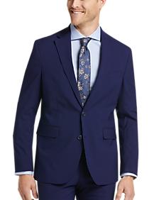 Cole Haan Zero Grand Cole Haan Grand.ØS Blue Slim Fit Suit Separates Coat