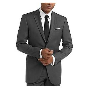 BLACK by Vera Wang Gray Slim Fit Tuxedo